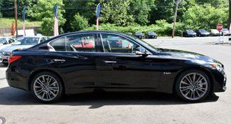 2016 Infiniti Q50 3.0t Red Sport 400 Waterbury, Connecticut 8