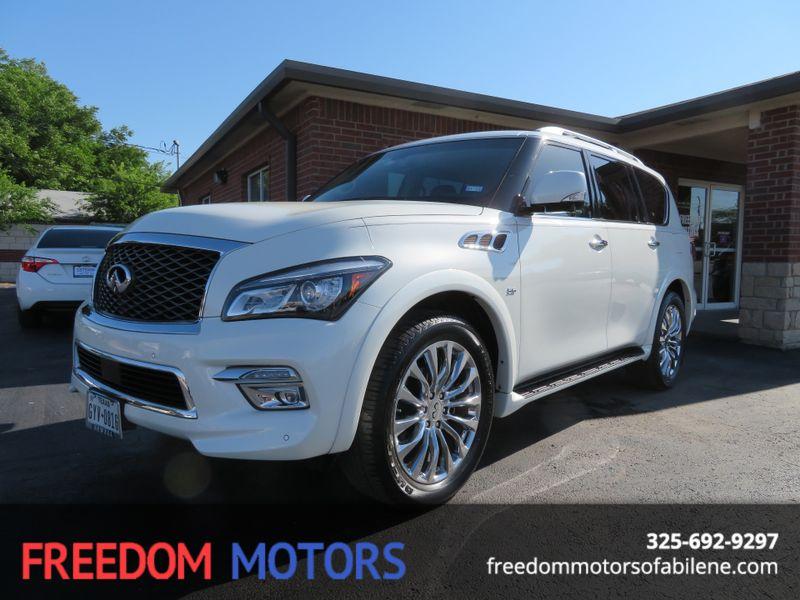 2016 Infiniti QX80    Abilene, Texas   Freedom Motors  in Abilene Texas