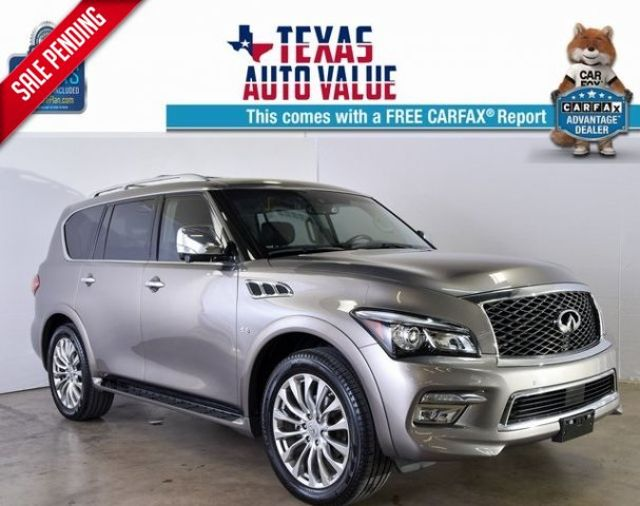 2016 Infiniti QX80 w/22, Theater Package, Deluxe Tech Pack, & MORE