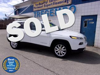 2016 Jeep Cherokee 4WD Limited in Bentleyville, Pennsylvania 15314