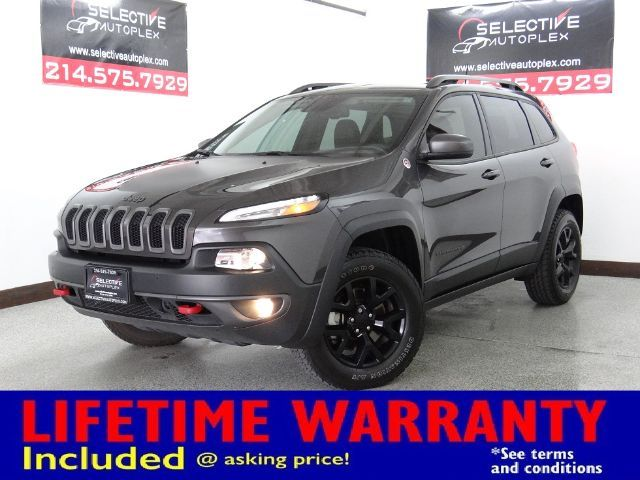 2016 Jeep Cherokee Trailhawk, NAV, PANO ROOF, HEATED FRONT SEATS in Carrollton, TX 75006