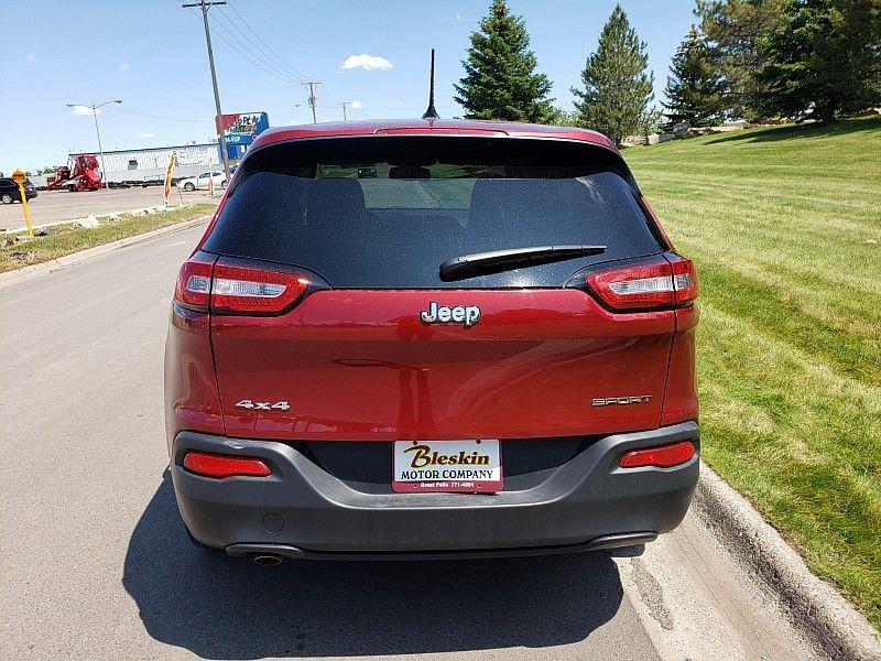 2016 Jeep Cherokee 4d SUV 4WD Sport  city MT  Bleskin Motor Company   in Great Falls, MT