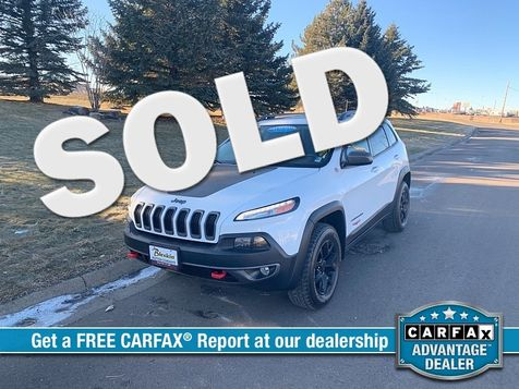 2016 Jeep Cherokee 4d SUV 4WD Trailhawk V6 in Great Falls, MT