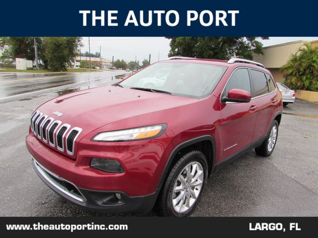 2016 Jeep Cherokee Limited 4X4 in Largo Florida, 33773