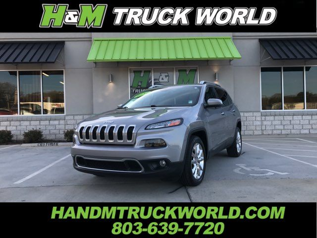 2016 Jeep Cherokee Limited *LEATHER* SUPER CLEAN