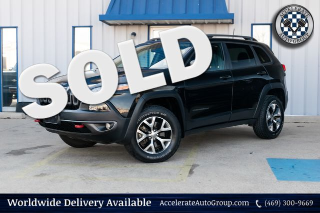 2016 Jeep Cherokee Trailhawk in Rowlett