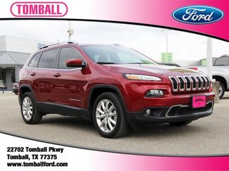 2016 Jeep Cherokee Limited in Tomball, TX 77375