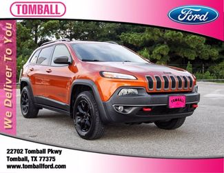 2016 Jeep Cherokee Trailhawk in Tomball, TX 77375
