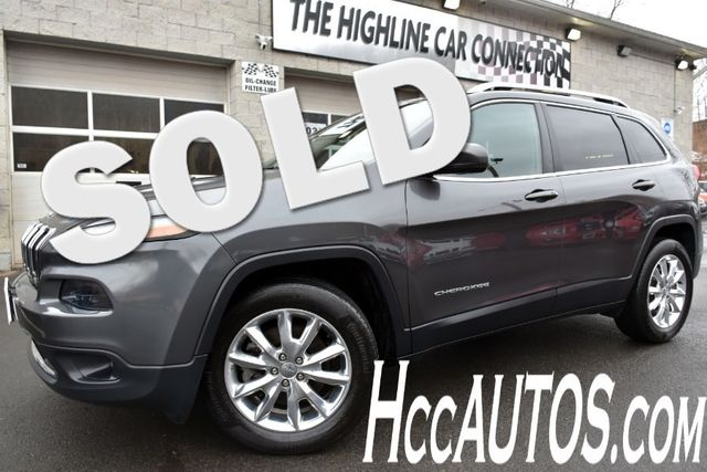 2016 Jeep Cherokee Limited Waterbury, Connecticut