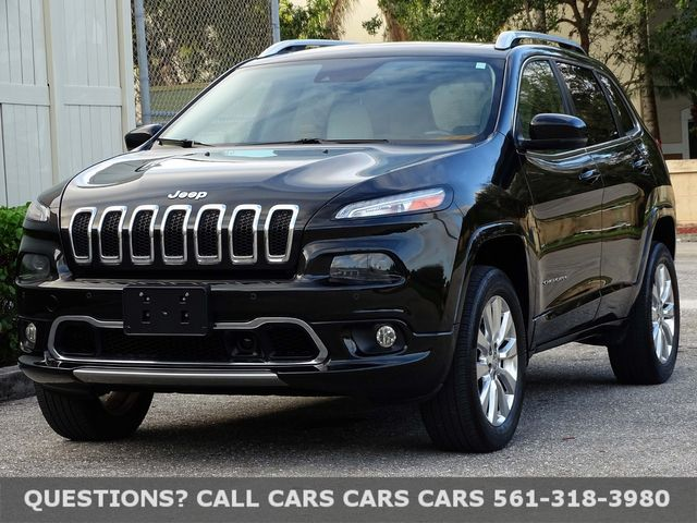 2016 Jeep Cherokee Overland in West Palm Beach, Florida 33411