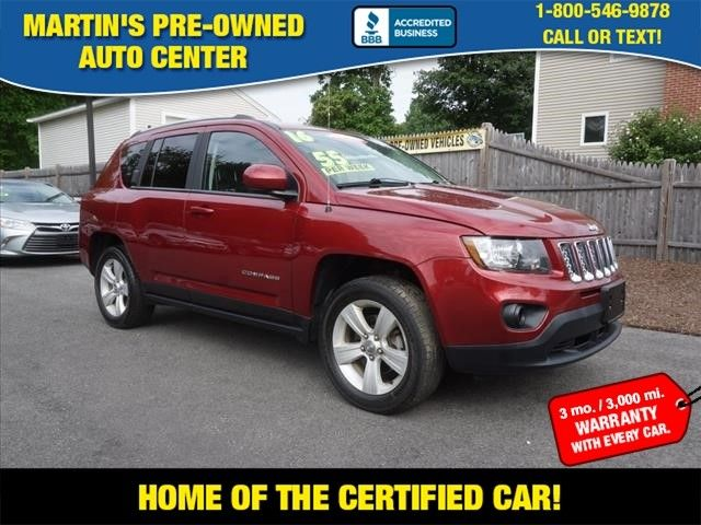 2016 Jeep Compass Latitude in Whitman, MA 02382