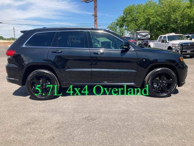 2016 Jeep Grand Cherokee High Altitude OverLand