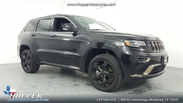 2016 Jeep Grand Cherokee High Altitude 5.7L V8