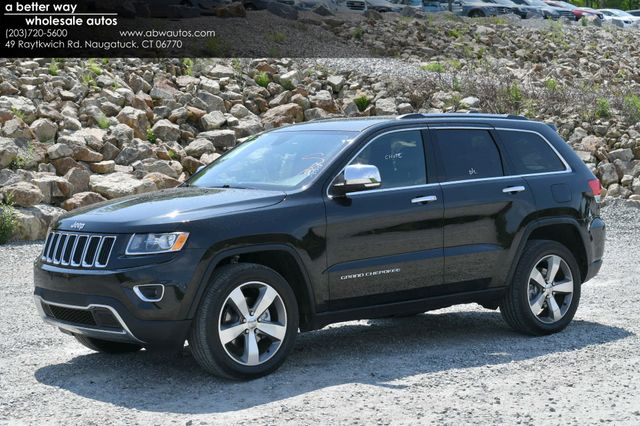 2016 Jeep Grand Cherokee Limited 4WD Naugatuck, Connecticut