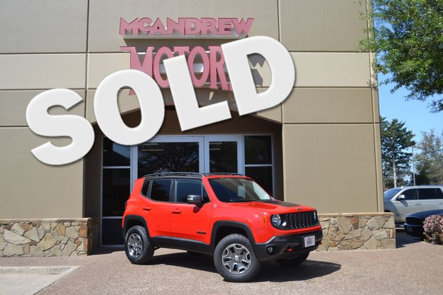 2016 Jeep Renegade 4 X 4 Trailhawk Lifted