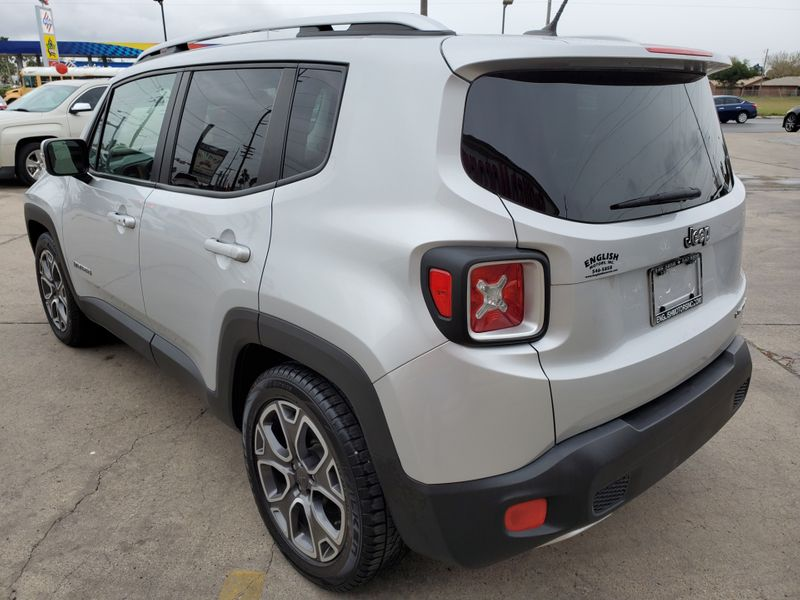 2016 Jeep Renegade Limited  Brownsville TX  English Motors  in Brownsville, TX