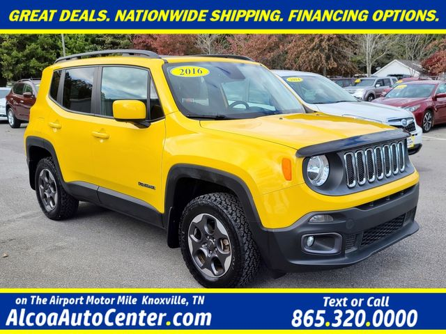 2016 Jeep Renegade Latitude 4WD MY SKY Dual Sunroofs Cold Weather Pkg