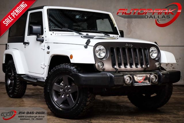 2016 Jeep Wrangler Freedom Oscar Mike Edition