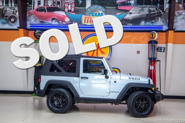 2016 Jeep Wrangler Willys Wheeler in Addison, Texas 75001
