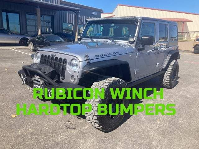 2016 Jeep Wrangler Unlimited Rubicon Rubicon in Boerne, Texas 78006