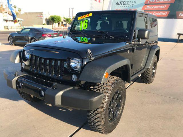 2016 Jeep Wrangler Willys Wheeler in Calexico, CA 92231