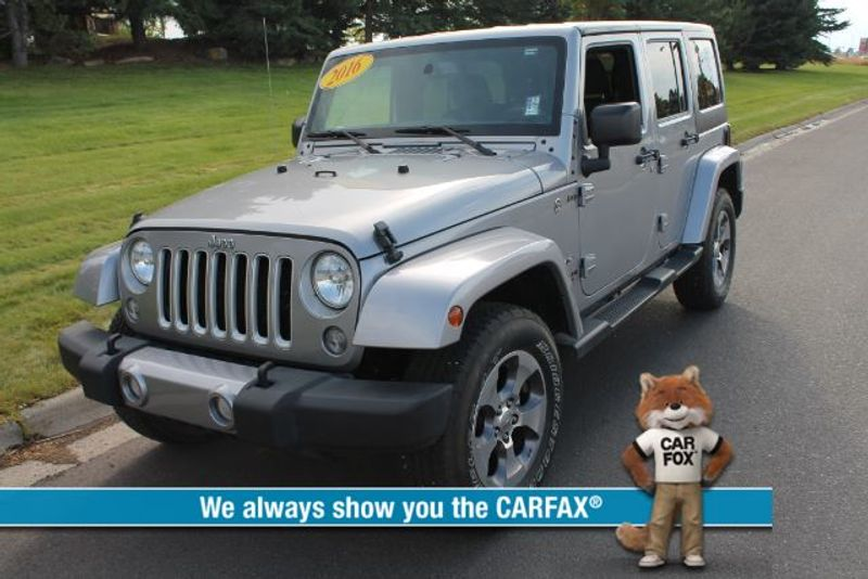 2016 Jeep Wrangler Unlimited Sahara 4WD  city MT  Bleskin Motor Company   in Great Falls, MT
