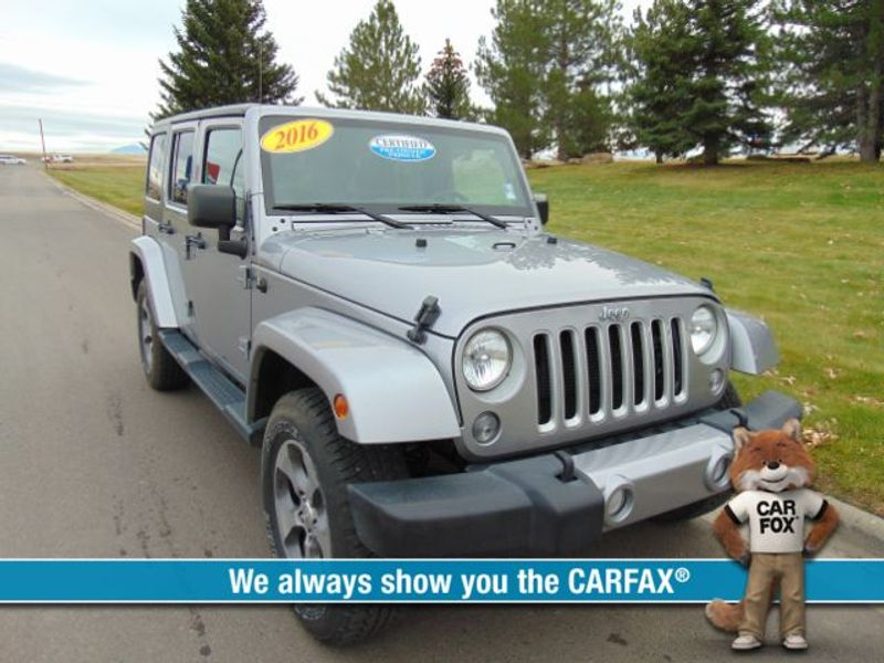 2016 Jeep Wrangler Unlimited 4d Convertible Sahara  city MT  Bleskin Motor Company   in Great Falls, MT