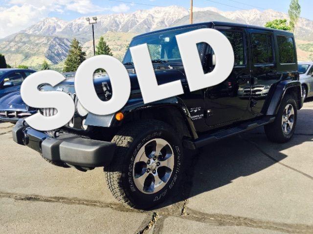 2016 Jeep Wrangler Unlimited Sahara 4WD LINDON, UT