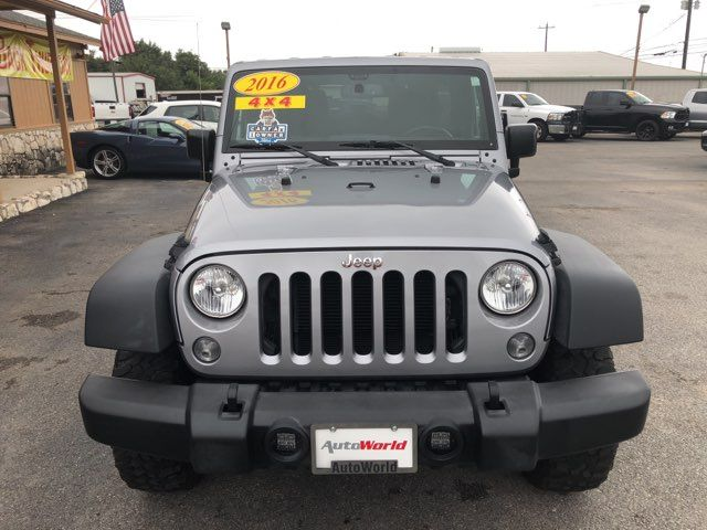 2016 Jeep Wrangler Unlimited Rubicon in Marble Falls TX, 78654