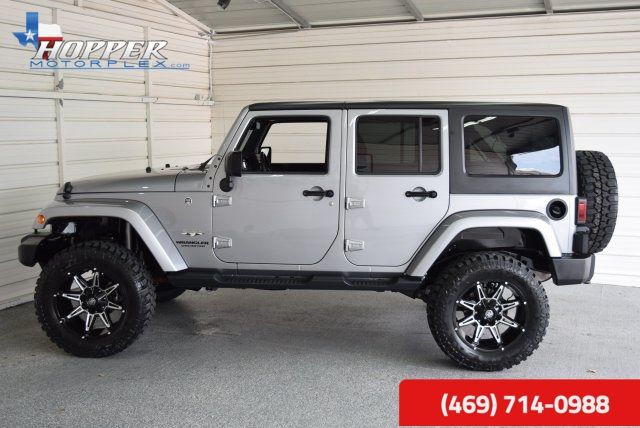 2016 Jeep Wrangler Unlimited Sahara LIFTED!!! HLL in McKinney Texas, 75070