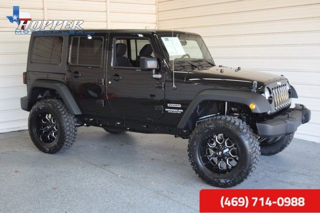 2016 Jeep Wrangler Unlimited Sport LIFTED HLL