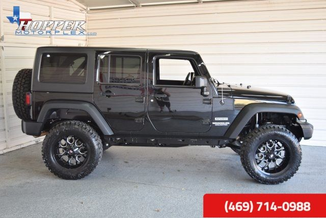 2016 Jeep Wrangler Unlimited Sport LIFTED!! HLL in McKinney Texas, 75070