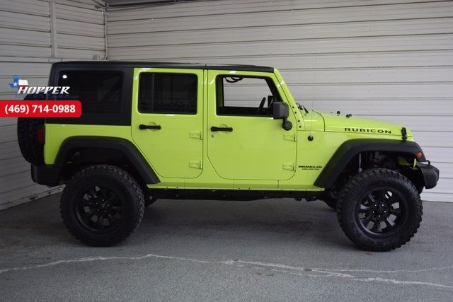 2016 Jeep Wrangler Unlimited Rubicon LIFTIED!! HLL in McKinney Texas, 75070
