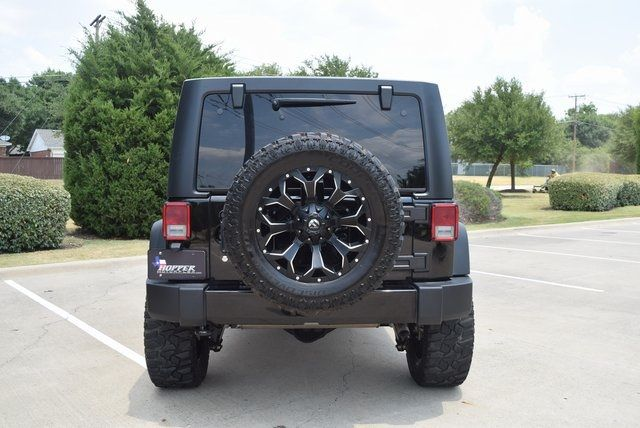2016 Jeep Wrangler Unlimited Willys Wheeler LIFTED W/CUSTOM TIRES ... in McKinney Texas, 75070