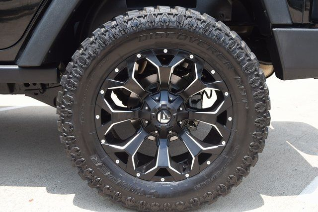 2016 Jeep Wrangler Unlimited Sport LIFTED W/CUSTOM TIRES AND WHEELS in McKinney Texas, 75070