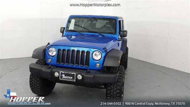 2016 Jeep Wrangler Unlimited Sport LIFTED W/CUSTOM WHEELS AND TIRES in McKinney Texas, 75070