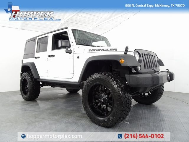 2016 Jeep Wrangler Unlimited Sport LIFT/CUSTOM LIFT AND TIRES