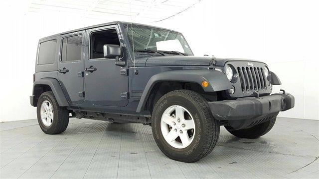 2016 Jeep Wrangler Unlimited Sport Custom Lift Wheels & Tires