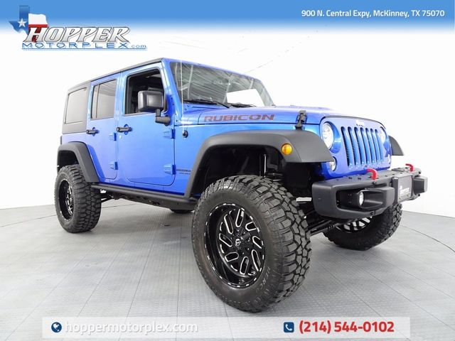 2016 Jeep Wrangler Unlimited Rubicon LIFT/CUSTOM WHEELS AND TIRES