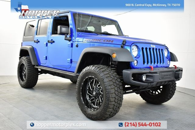 2016 Jeep Wrangler Unlimited Rubicon NEW CUSTOM LIFT/WHEELS AND TIRES