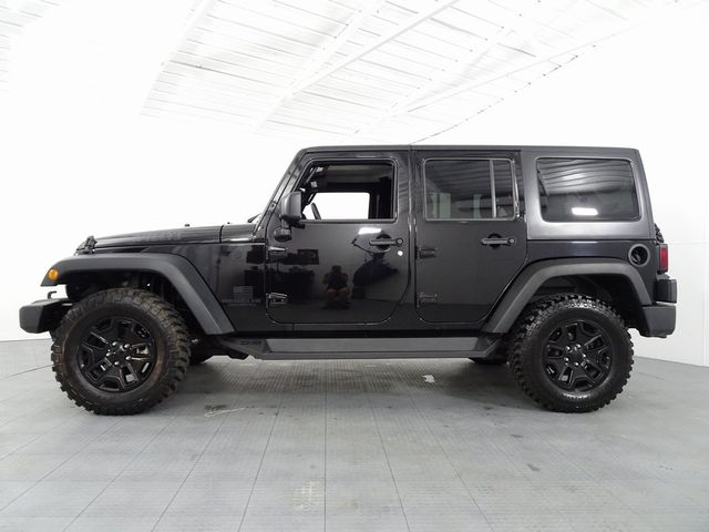 2016 Jeep Wrangler Unlimited Willys Wheeler in McKinney, Texas 75070