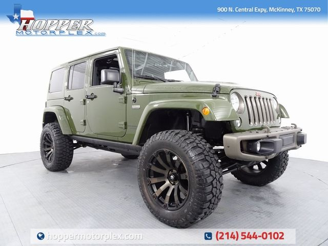 2016 Jeep Wrangler Unlimited Sahara 75th Anniversary Edition LIFT/...