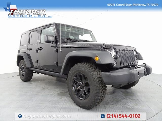 2016 Jeep Wrangler Unlimited Willys Wheeler LIFT/CUSTOM WHEELS AND...