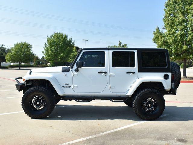 2016 Jeep Wrangler Unlimited Sahara LIFT/CUSTOM WHEELS AND TIRES in McKinney, Texas 75070