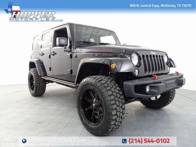 2016 Jeep Wrangler Unlimited Rubicon Anniversary Edition