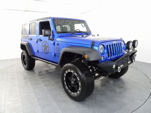 2016 Jeep Wrangler Unlimited Sport LIFT/CUSTOM WHEELS AND TIRES