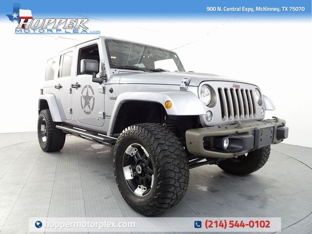 2016 Jeep Wrangler Unlimited Sahara 75th Anniversary Edition in McKinney, Texas 75070