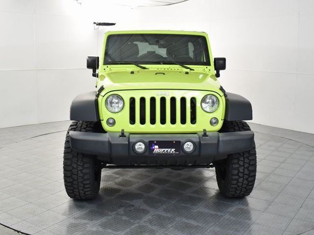2016 Jeep Wrangler Unlimited Sport With Custom Lift, Wheels and Tires in McKinney, Texas 75070