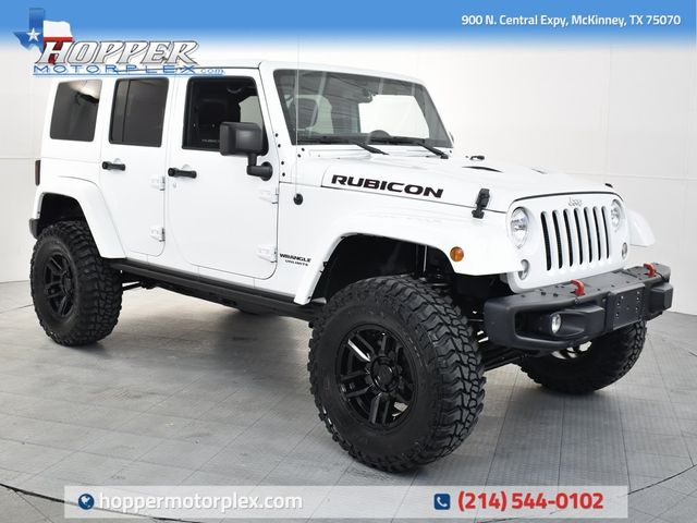 2016 Jeep Wrangler Unlimited Rubicon W/Custom Lift Kit, Wheels and...
