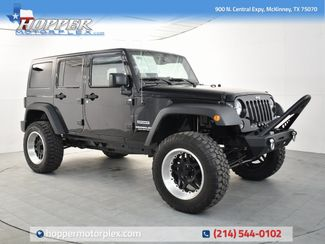2016 Jeep Wrangler Unlimited Sport Custom Lift, Wheels and Tires in McKinney, Texas 75070